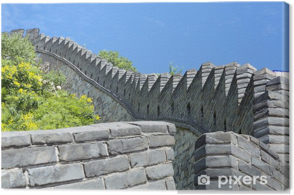 Tableau sur toile The great wall of china - Asie