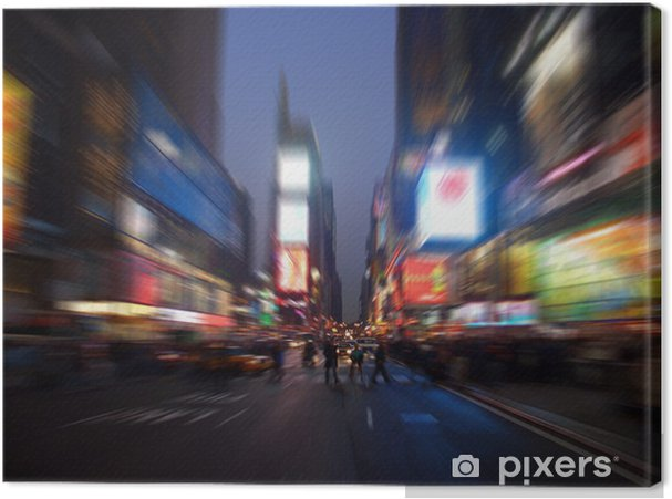Tableau sur toile Times Square, Manhattan, New York - Divertissements