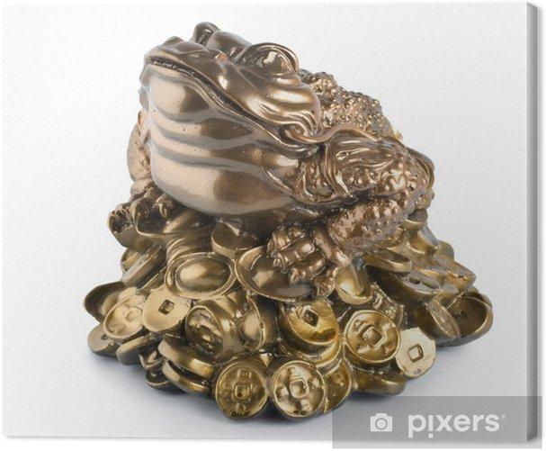 Tableau sur toile Tirelire grenouille - Autres objets