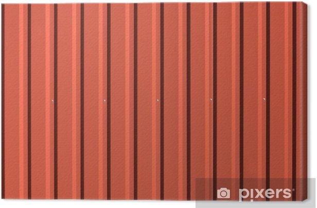 Tableau sur toile Tôle d'acier ondulé utile comme arrière-plan - Thèmes