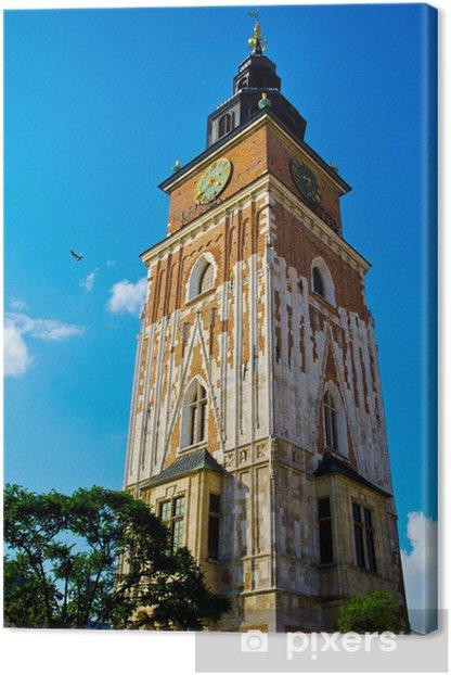 Tableau sur toile Tour à Cracovie - Monuments