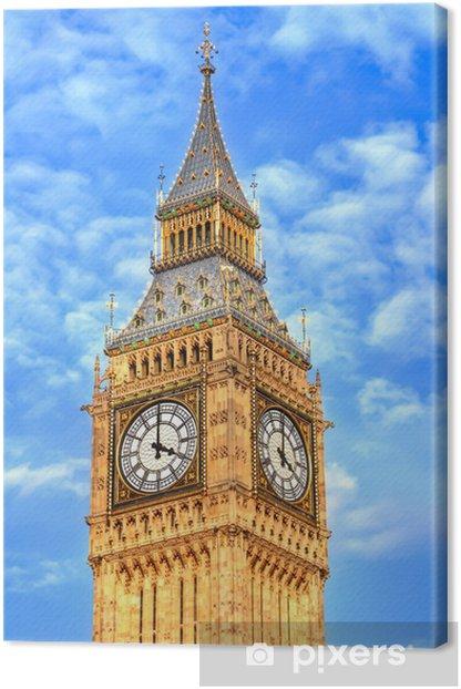 Tableau sur toile Tour de Big Ben - Thèmes