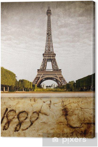 Tableau sur toile Tour Eiffel 1889 - Thèmes