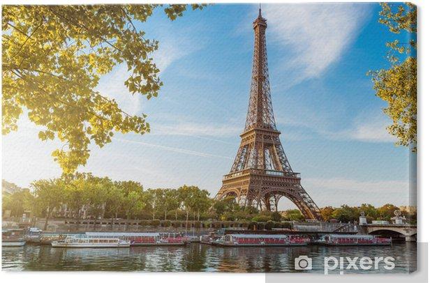 Tableau sur toile Tour Eiffel Paris France - iStaging