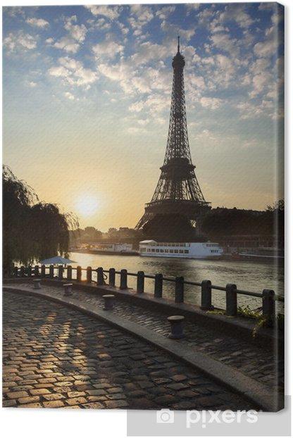 Tableau sur toile Tour Eiffel Paris - Thèmes