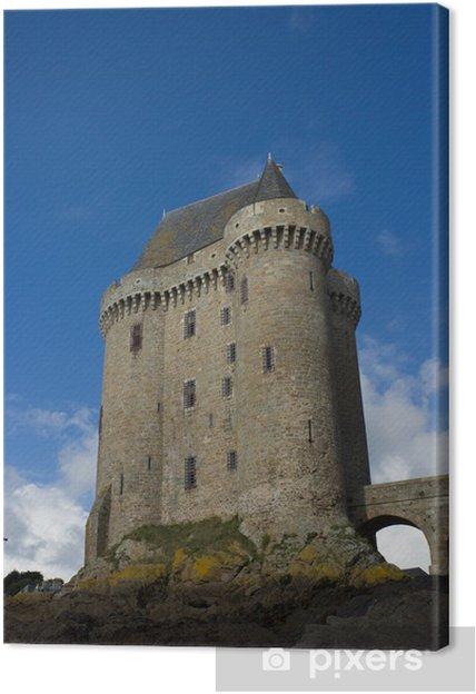 Tableau sur toile Tour Solidor, la tour Solidor, Saint-Malo, France - Europe
