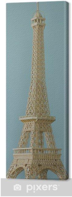 Tableau sur toile Tower_3 Eiffel - Villes européennes