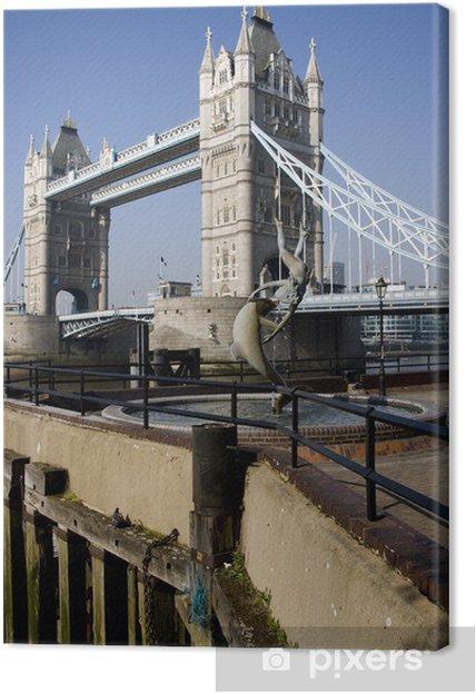 Tableau sur toile Tower Bridge à Londres, Royaume-Uni - Villes européennes