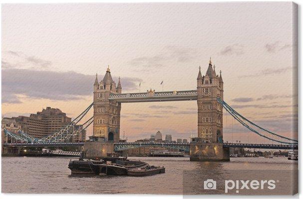 Tableau sur toile Tower bridge - Thèmes