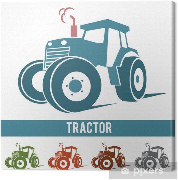 Tableau sur toile Tracteur - Agriculture