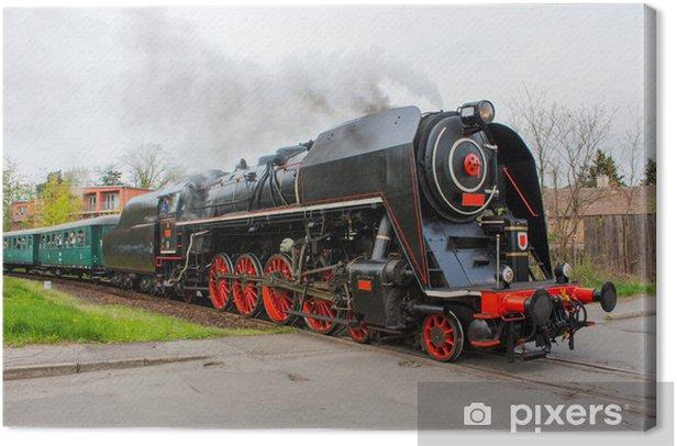 Tableau sur toile Train a vapeur - Thèmes