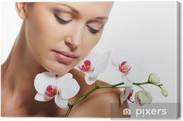 Tableau sur toile Traitement de la peau pour la femme adulte beauté - Destin