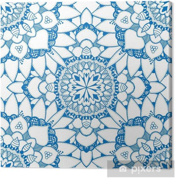 Tableau sur toile Transparente motif floral - Ressources graphiques