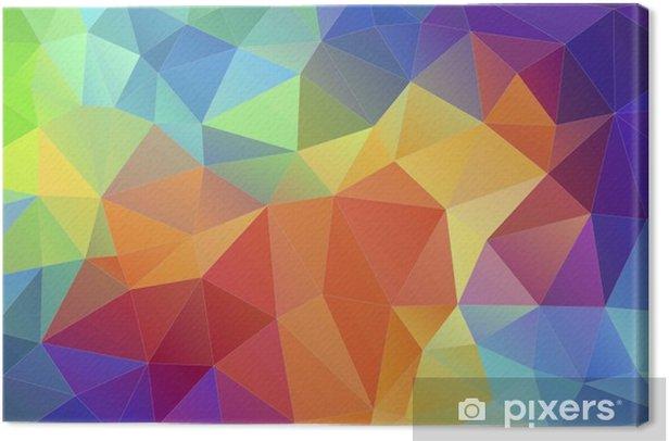 Tableau Sur Toile Triangle Geometrique Triangle Multicolore Fond D Ecran Pixers Nous Vivons Pour Changer