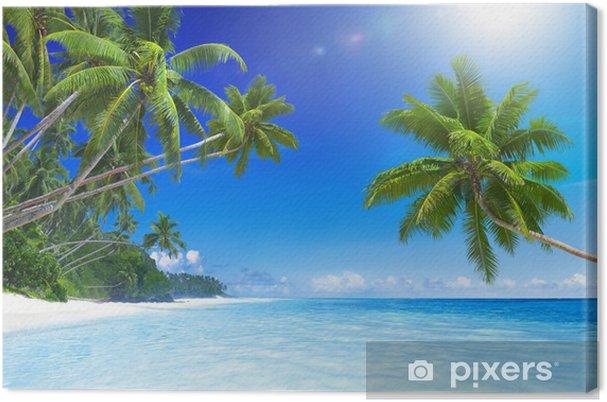 Tableau sur toile Tropical Beach Paradise - Thèmes