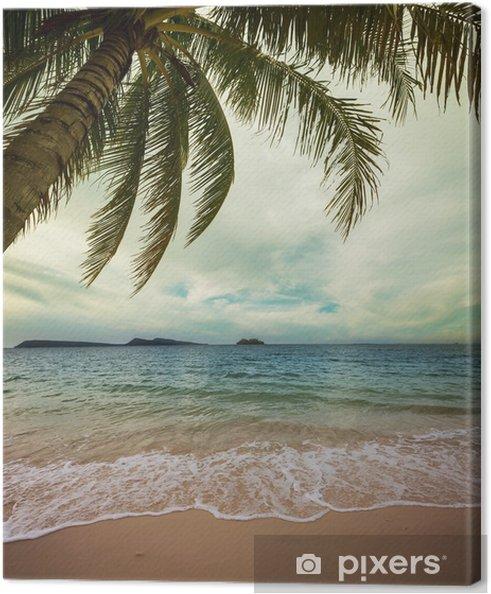 Tableau sur toile Tropical beach - Vacances