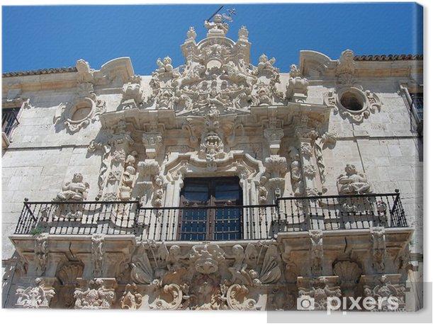 Tableau sur toile Ucles monastère dans la province de Cuenca, Castilla La Mancha, Espagne - Europe