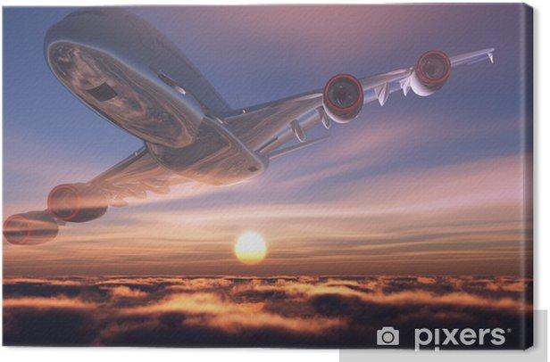 Tableau sur toile Un avion du passager - Thèmes