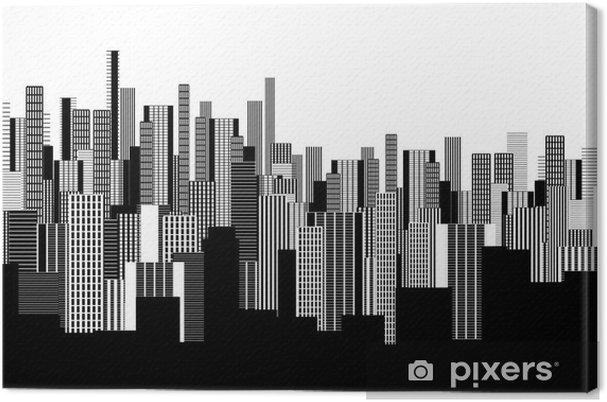 tableau sur toile un r u00e9sum u00e9 papier peint paysage urbain