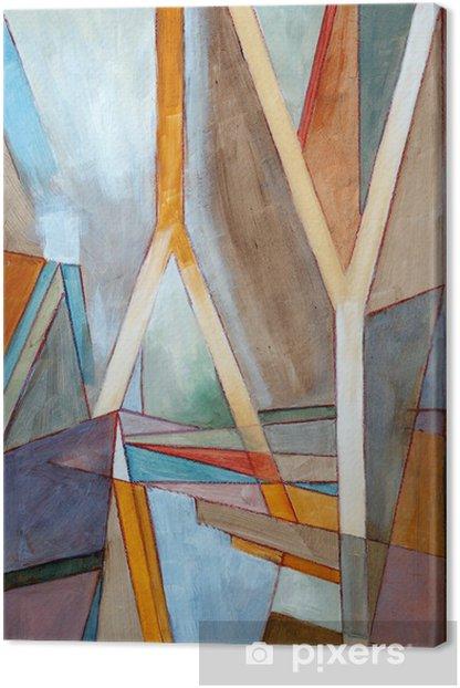Tableau sur toile Une peinture abstraite - Styles