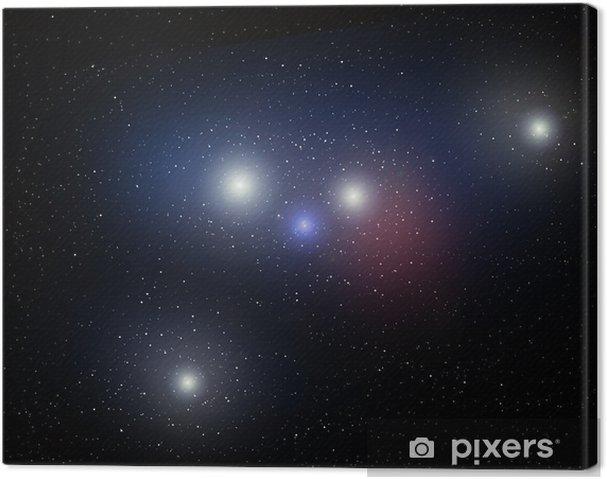 Tableau sur toile Univers - Espace