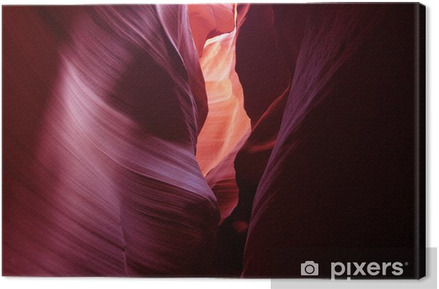 Tableau sur toile Upper Antelope Canyon à Page, Arizona, États-Unis - Nature et régions sauvages
