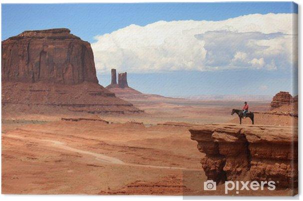 Tableau sur toile USA - Monument valley - Thèmes