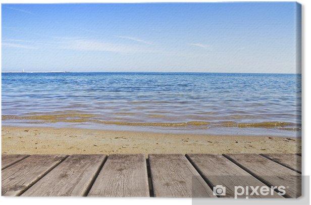 Tableau sur toile Vacances à la plage - Vacances