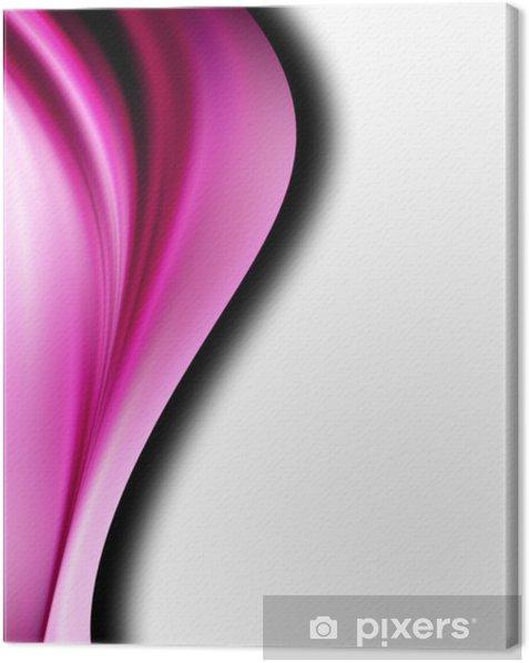 Tableau sur toile Vague violet - PI-31