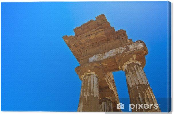 Tableau sur toile - Vallée des Temples à Agrigente - Europe