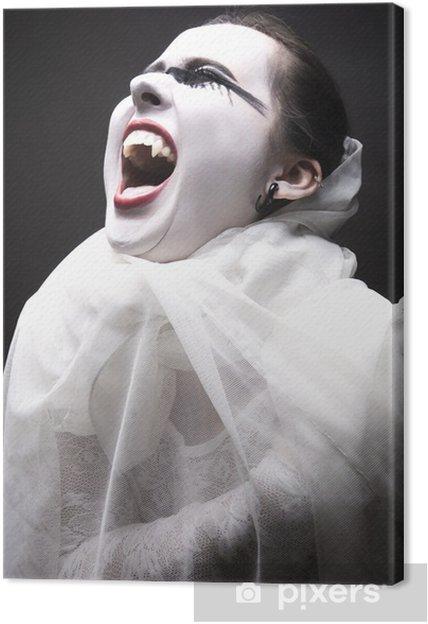 Tableau sur toile Vampire Femme - Thèmes