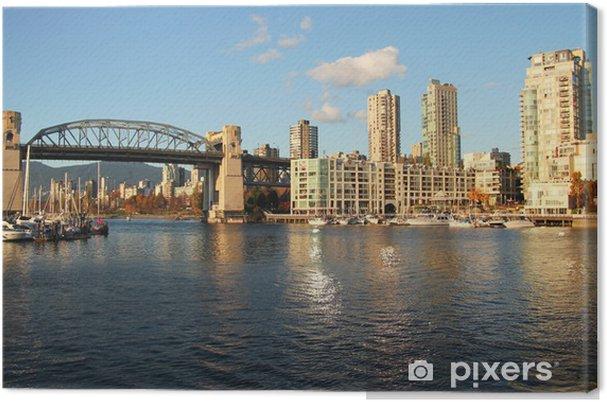 Tableau sur toile Vancouver city - Amérique