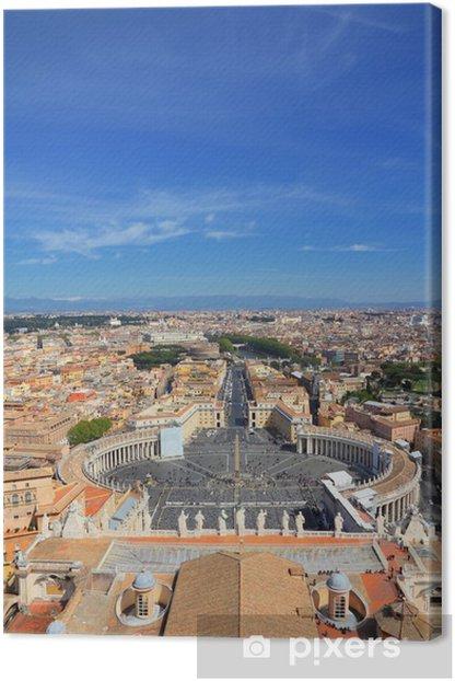 Tableau sur toile Vatican et Rome - Villes européennes
