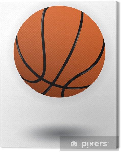 Tableau sur toile Vecteur de basket-ball illustration - Sports collectifs