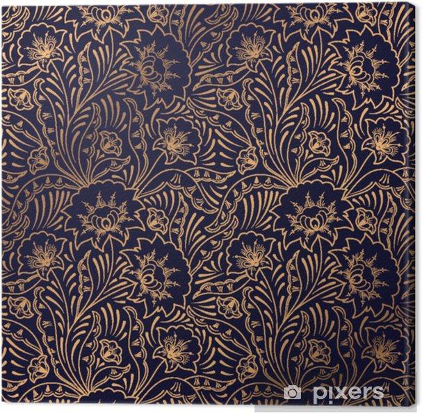 Tableau Sur Toile Vecteur De Fond De Luxe Motif Royal Floral Sans Soudure Conception Indienne Pour Fond D Ecran D Yoga Ornement De Salon De Beaute