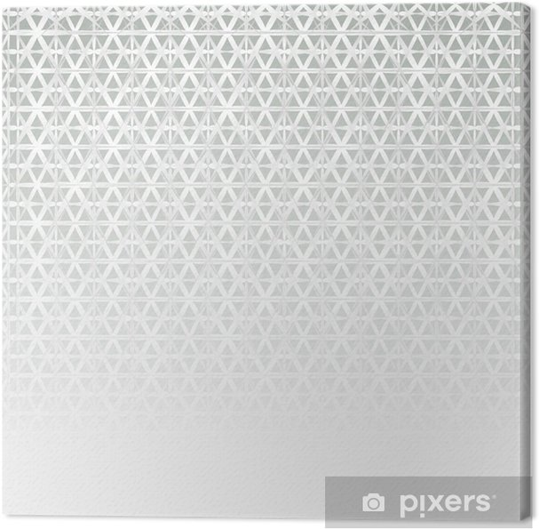 Tableau sur toile Vecteur de texture métallique fond - Matières premières