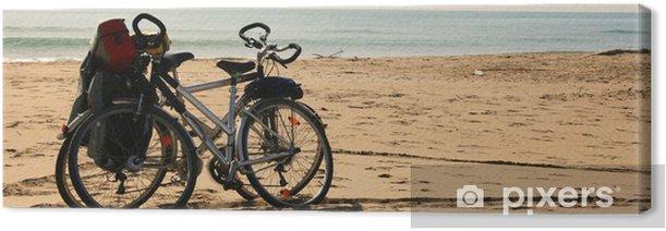 Tableau sur toile Vélo - Vacances