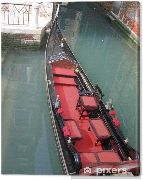 Tableau sur toile Venetian Gondola - Bateaux
