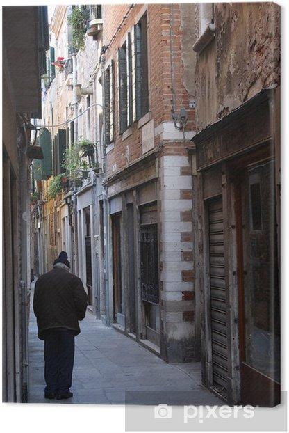 Tableau sur toile Venezia, le style de vie - Villes européennes