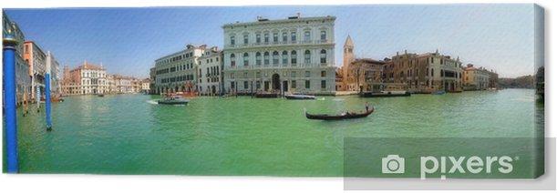 Tableau sur toile Venise. Grand Canal (panorama). - Villes européennes