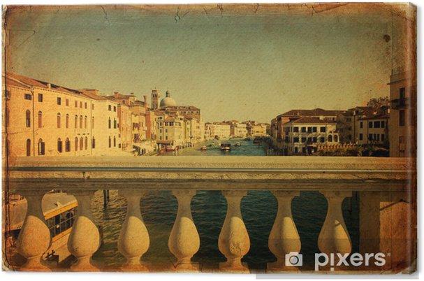 Tableau sur toile Venise, le Grand Canal - Villes européennes