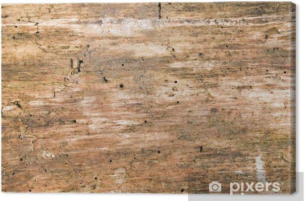 Tableau sur toile Verfaultes Holz - Arrière plans