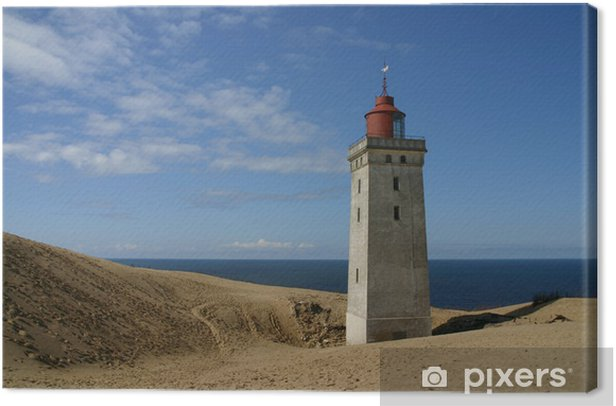 Tableau sur toile Versandeter Leuchtturm - Monuments