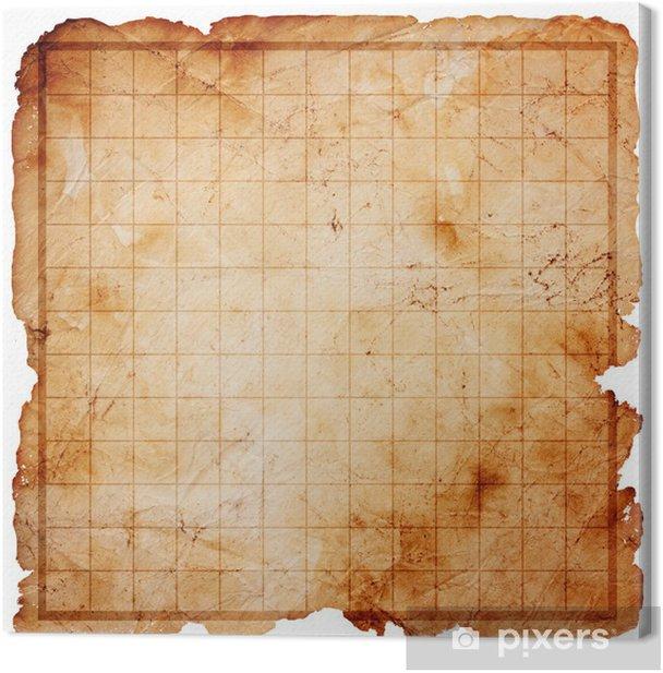 carte au trésor vide Tableau sur toile Vide pirate carte au trésor • Pixers®   Nous