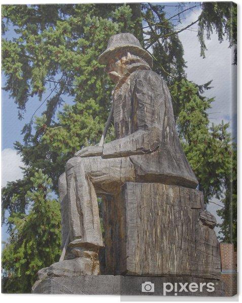 Tableau sur toile Vieil homme d'arbre - Europe