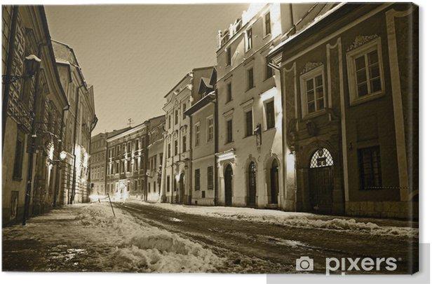 Tableau sur toile Vieille ville de Cracovie - Thèmes