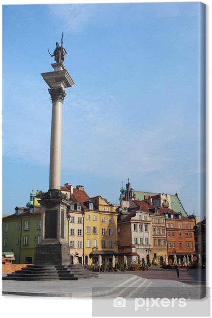 Tableau sur toile Vieille Ville de Varsovie - Thèmes