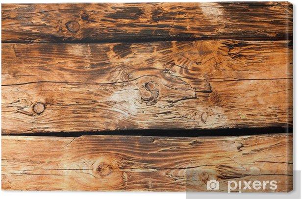 Tableau sur toile Vieilles planches de bois - Thèmes