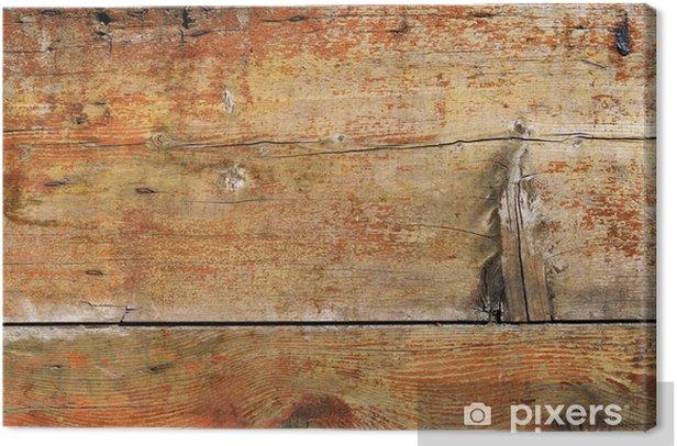 Tableau sur toile Vieux bois - Thèmes