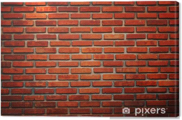 Tableau sur toile Vieux mur de briques texture de fond - Arrière plans